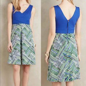 Anthropologie HD in Paris Hardmore Dress Sz 8 NWT
